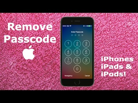 How To REMOVE Forgotten iPhone 6S 6 PASSCODE Tutorial | UNLOCK iPad Air Mini iPod iOS Password Code
