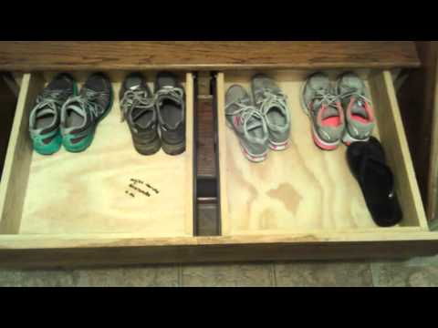 Drawers I put in my stairs
