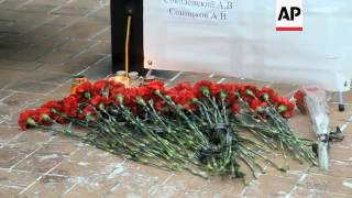 Donetsk vigil for doctor on board Russia plane