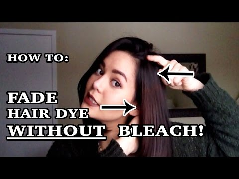 How to Fade Dyed Hair WITHOUT Bleach