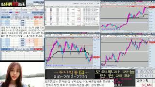 실시간 해외선물 두나의 해외선물  (5월 25일 월요일 오전)   #해외선물 #실시간해외선물