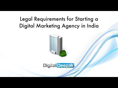 Legal Requirements for Starting a Digital Marketing Agency in India