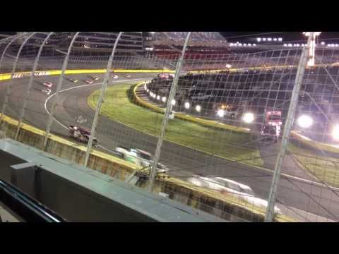 Caution at Charlotte Motor Speedway-Nationwide Series October 11, 2013