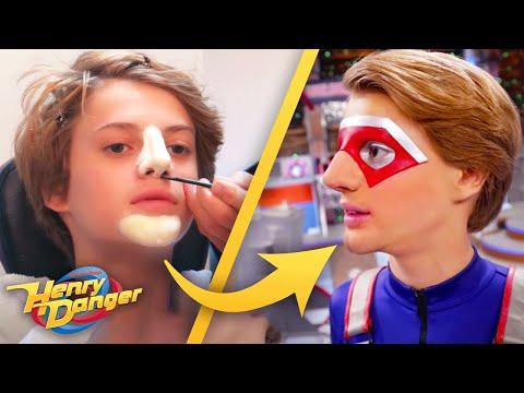 Henry Danger | BTS Kid Danger Transformation 🎬 | Nick