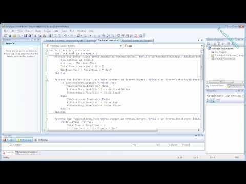 Visual Basic 2008 L1 : Countdown Timer