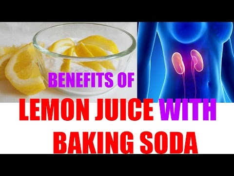 Benefits of Lemon Juice with Baking Soda | Why this is so important Baking Soda with Lemon Juice?