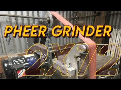 2x72 Grinder Review