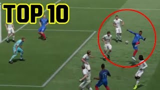 FIFA 17| TOP 10 GOAL ASSURDI! #1