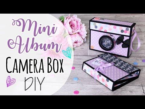 Mini Album in Camera Box - Mini Album e scatola Macchina fotografica