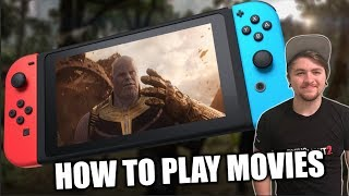 Download How to Watch Movies on Nintendo Switch - iTunes, Google Play, and more! Video