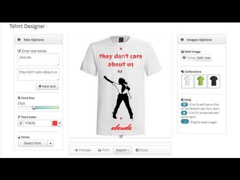 T-shirt Designer - Wordpress Plugin