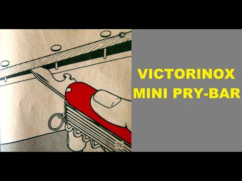 victorinox tricks 9-mini pry bar
