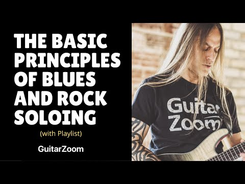 Steve Stine Live Guitar Masterclass: Basic Blues and Rock Soloing