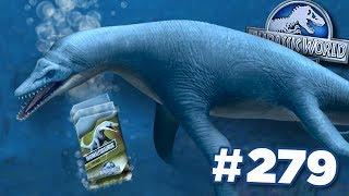 NEW RHOMALEOSAURUS + FREE DNA!!!    Jurassic World - The Game - Ep279 HD