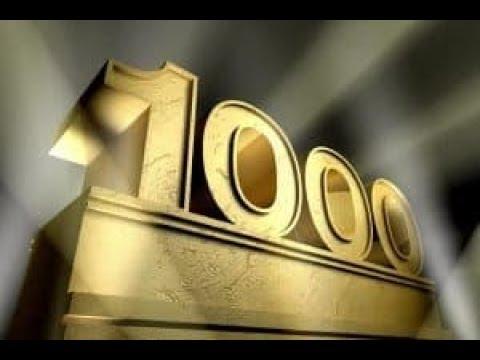 !!1000-en lettünk!! Köszönöm!