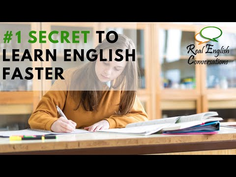 The Real Secret to Learn English Faster (with Subtitles)