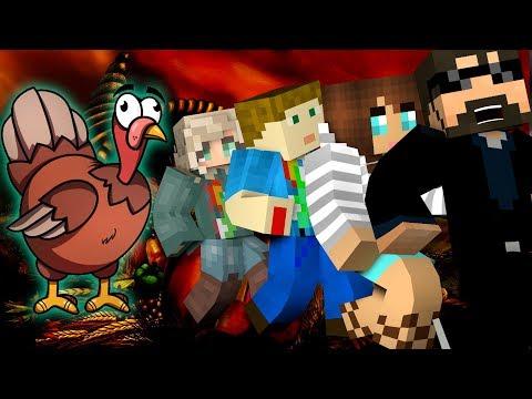 Minecraft: THANKSGIVING MURDER | MODDED MINI-GAME