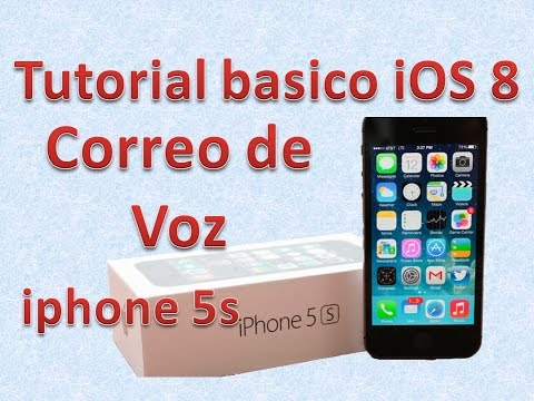 Tutorial y Guía de uso Iphone 5s parte 94 como usar buzon de voz iphone