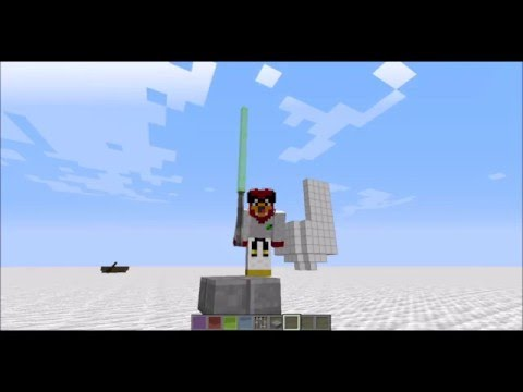 Minecraft: How To Build A Simple Lightsaber