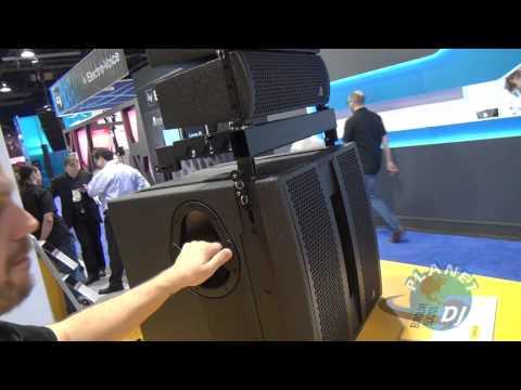 Behringer Line Array Speakers - NAMM 2012