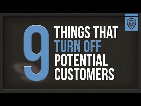 9 Things that Turn Off Potential Customers