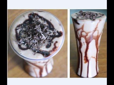 Chikoo Chocolate Icecream Shake recipe by  Raks HomeKitchen