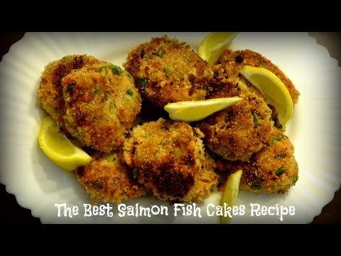 The Best Salmon Fish Cakes Recipe | By Victoria Paikin