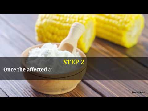 Corn Starch To Get Rid Of Rash Under Breasts
