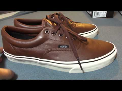 aaa17ed989 Shoe Review  Vans  Aged Leather  Era s (Black   Brown)