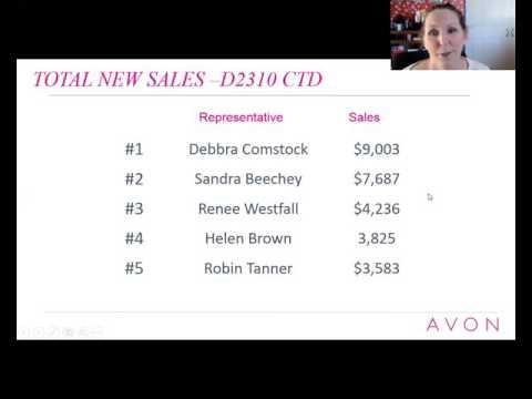 Avon November Sales Meeting & Recognition D2867 & 2310