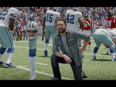 DirecTV Commercial 2017 NFL Sunday Ticket Charlie Day All V Some