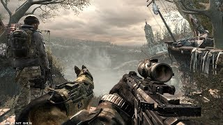 Amazing Post Apocalypse Mission from Call of Duty Ghosts FPS Game on PC