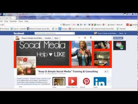 How to secure your URL (Username)   on Facebook Business Pages