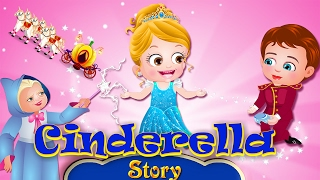 Cinderella Full Movie In English | Stories For Kids | Kids Cartoon Movies By Baby Hazel