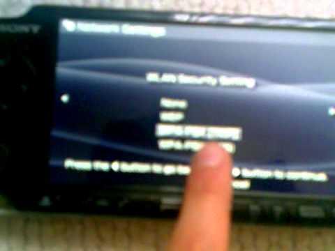 Kako ici na wi-fi preko PSP