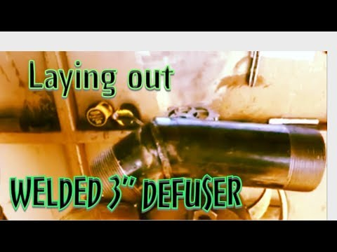 """How to Weld a 3"""" defuser for an oil tank"""