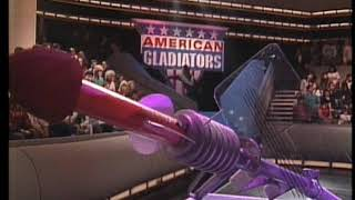 American gladiators mens and womans assault