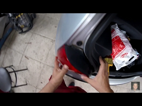Volkswagen Polo (2002–2009)   How to replace rear tai light