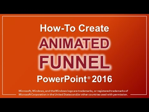 How to Create Animated Funnel in PowerPoint 2016