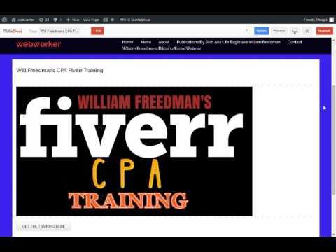 WILLIAM FREEDMANS FIVERR CPA TRAINING