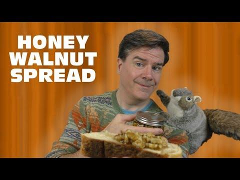 Walnuts In Honey:  3 Ingredient Recipes