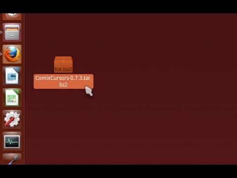 Como mudar o cursor do mouse no Ubuntu