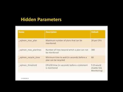 Oracle SQL Monitoring - Performance Analysis