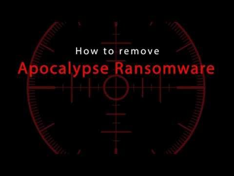 Apocalypse Ransomware Removal