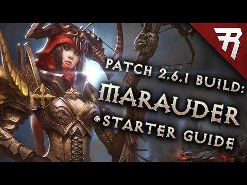Diablo 3 2.6.1 Demon Hunter Build: Starter & Marauder GR117+ & Speed (Guide, Season 14)