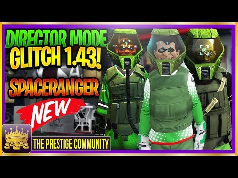 GTA 5 DIRECTOR MODE GLITCH 1.43! *NEW* ''SPACE RANGER HELMET GLITCH'' (DM Modded Outfits Ps4/Xbox 1)