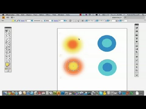 How to Make Things Look Glowing Hot in Illustrator : Adobe Illustrator Tutorials