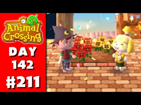 Animal Crossing: New Leaf - Part 211 - Flower Bed (Nintendo 3DS Gameplay Walkthrough Day 142)