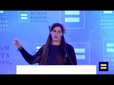 Danica Roem Speaks at HRC's Equality Convention