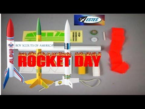 How to Build a Estes Viking Rocket ,Boy Scouts ,Rocket Day